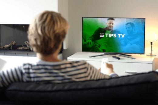 Branding KPN Beleef TV scherm